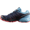 Salomon W's Speedcross Vario GTX Shoes Slateblue/Blue Gum/Coral Punch